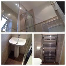 full bathroom remodel including whirlpool bath suspended
