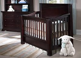 Espresso Convertible Cribs Li L Deb N Heir Baby S Baby Cribs Nursery Furniture Sets