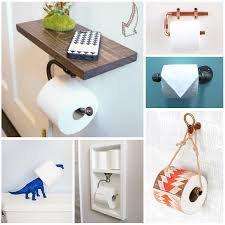 bathroom toilet paper holders diy toilet paper holders to make for your home