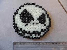 Halloween Perler Bead Templates by The Nightmare Before Christmas Perler Beads Jack Et Zero De L