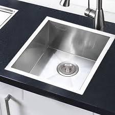 Square Kitchen Sinks Stainless Steel Kitchen Sink Topmount Ebay