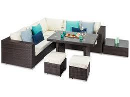 rattan corner sofa tuscany brown rattan corner sofa and dining table