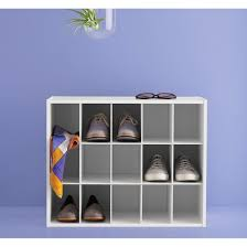 Shoe Rack by 15 Pair Shoe Rack White Room Essentials Target