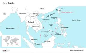 South China Sea Map by A Verdict Against China U0027s Claims In The South China Sea Leads To