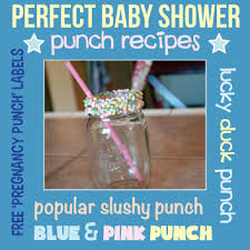 Best Punch For A Baby Shower - the best baby shower punch recipes baby shower punch raspberry
