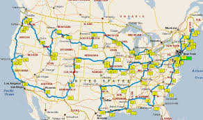 map your usa road trip timbotrip