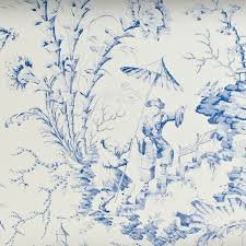Toile Bathroom Wallpaper by 17 Best Delft Blue Bathroom Images On Pinterest Ideas 60 Vanity