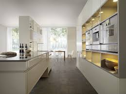 kitchen style white and black scandinavian kitchen design trends