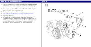 replacing ac compressor 2008 honda civic ac air conditioner and