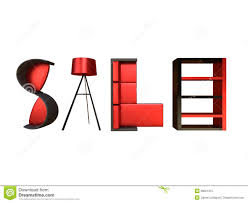furniture sale advertisement royalty free stock photo image