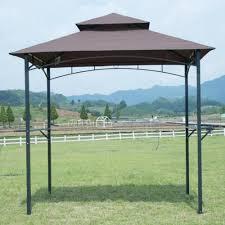 bbq tent factory direct wholesale rakuten brown 8 x 5 bbq grill gazebo