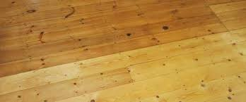 how the wood flooring color is affected with