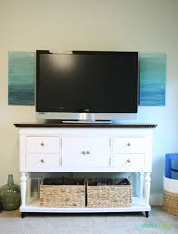 Simple Tv Table Simplicity Tv Stand Guest Post Country Chic Paint