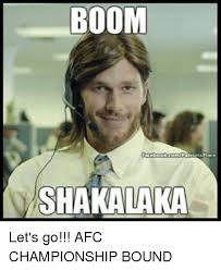 Boom Meme - boom ots place shakalaka let s go afc chionship bound meme