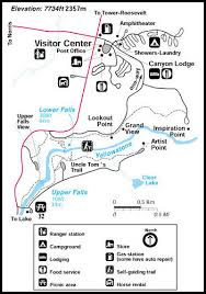 grand map lodging destination map yellowstone tours and