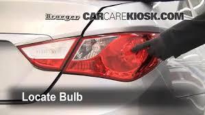 2013 hyundai sonata tail light bulb size brake light change 2011 2015 hyundai sonata 2011 hyundai sonata