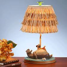 disney baloo and mowgli u0027s jungle book collectors lamp nursery
