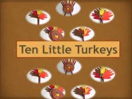 preschool thanksgiving song ten turkeys song