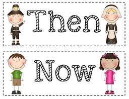 then and now a thanksgiving social studies unit by sanderson