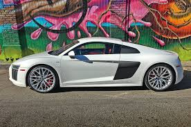 Audi R8 Silver - one week with 2017 audi r8 v10 automobile magazine