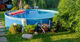 Pool Ideas For Backyard 5 Above Ground Pool Ideas For Small Yards