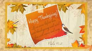 free vintage thanksgiving musical animated bible ecard
