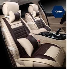 couvre siege auto cuir housse de siège de voiture en cuir pour audi a3 a4 b6 b8 a6 a5 q7