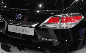lexus lx 450 hybrid first look 2013 lexus rx 350 and rx 450h automobile magazine