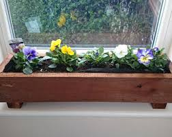 Herb Window Box Indoor Indoor Planters Etsy Uk