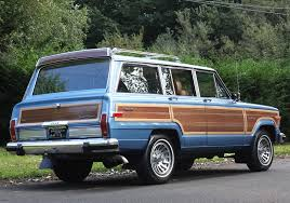 1991 jeep grand 1988 jeep grand wagoneer right rear view cars today