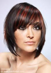 easy to maintain bob hairstyles easy to maintain bob haircut with a diagonal fringe hair coloring
