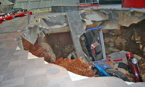 corvette museum collapse sinkhole savior chevrolet to oversee restoration of historic