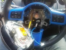 how to remove trim from steering wheel for painting etc