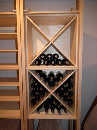 wine cellar racking peacock joinery