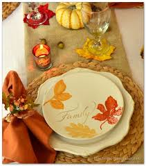 pretty thanksgiving dinnerware sets home decor