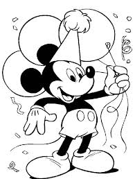 mouse clubhouse printable coloring pages