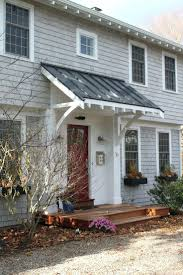 Awning Cost Front Doors 25 Best Front Door Awning Ideas On Pinterest Metal