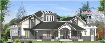 modern single floor house design kerala home design and floor plans
