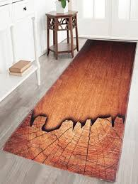 Brown Bathroom Rug by Bath U0026 Bed Rosewood Crystal Velvet W24inch L63inch Wood Grain