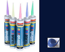 ultramarine blue coloured silicone sealant ral 5002 310ml amazon