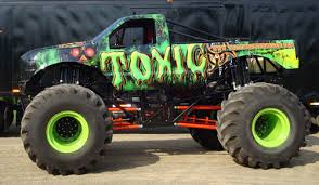 monster truck racing association themonsterblog com we know monster trucks introducing the toxic