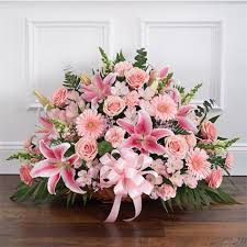 fort worth florist thoughts prayers pink funeral flower delivery in fort worth tx
