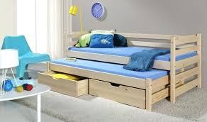 chambre bébé bois naturel lit enfant bois brut lit gigogne enfant en bois massif naturel lit