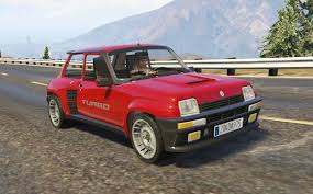 renault 5 tuning renault 5 turbo 2in1 add on replace tuning livery