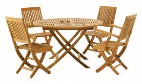 Folding Patio Dining Set - outdoor folding table and chairs u2013 teak outdoor folding table and