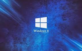 arriere plan du bureau télécharger fonds d écran windows 8 logo arrière plan bleu pour le