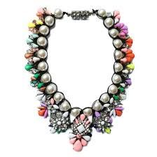 bib necklace designs images Jewels multicolored necklace necklace statement necklace bold jpg