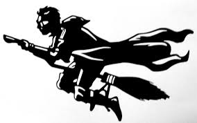 harry potter quidditch flight cut vinyl wall art sticker decal