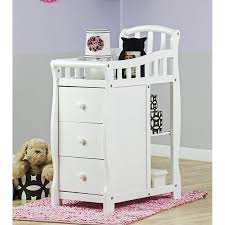 dream on me changing table and dresser dream on me casco 4 in 1 mini crib and changing table in white 630 w