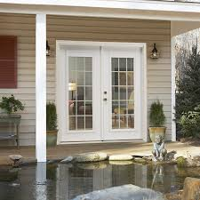 Secure French Doors - door simple and secure rench doors exterior replacement windows
